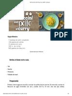 FETUCCINI CON POLLO AL CURRY _ Unimarc
