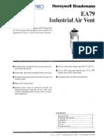 Honeywell EA79 Specs