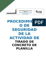 PROCEDIMIENTO DE TRABAJO DE TIRADO DE CONCRETO.doc