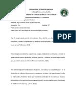 Tecnologia de la Informacion, 20 Conceptos