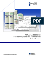 Rexroth-REFUdrive 500 RD52 Function Diagrams and Parameter List-Functional Description-Firmware 04VRS