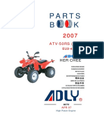 Adly ATV-50RS(EU2-2007) Parts