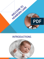 Newborn care New PowerPoint