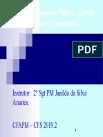 00 - Slides - Sistemas de Segurança e Gestao Integrada e Comunitária (Novo)