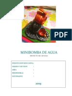 PROYECTO MINIBOMBA