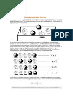 Función de probabilidad para variable discreta ejemplo