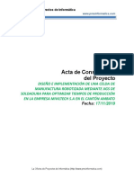 Plantilla Acta de Proyecto