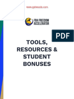 Student Bonuses & Resources