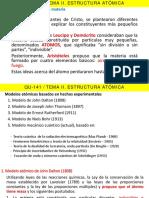 TEMA II Estructura atómica 2019-I