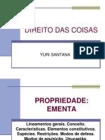 DIREITO DAS COISAS - PROPRIEDADE