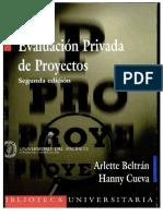 Beltran & Cueva - Evaluacion Privada de Proyectos