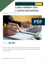 5 consejos para realizar una propuesta comercial exitosa - Liqui.do