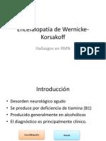 Encefalopatía de Wernicke-Korsakoff