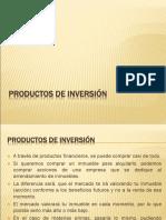 4. PRODUCTOS DE INVERSIÓN