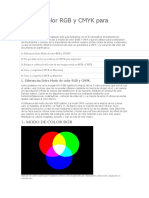 Guía de Color RGB y CMYK Para Imprenta