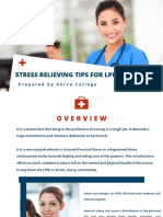 Stress Relieving Tips for LPNs