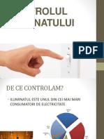 10. Controlul iluminatului -Sorin Mitarca