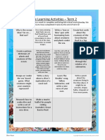 Y 3-4 Home Learning Grid