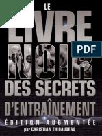 Le livre noir des secrets de l'entrâinement