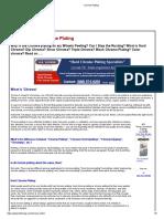 Chrome Plating process