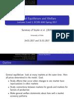 General Equilibrium (Microeconomics)