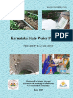 Executive Summary of KJA Recommendation on Karnataka State Water Policy 2019