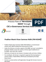 Process Flow of 'PM KISSAN SAMMAN NIDHI.pptx