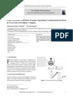 Fluid Mechanics and Heat-Transfer Operations Combi