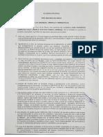 Camacho y Pumari conforman binomio para las elecciones generales