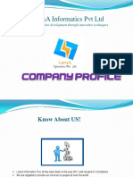 Lansa informatics pvt ltd - Profile