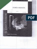 La autoria Mediata - El caso Fujimori (Roxin, Jakobs y Schroeder)