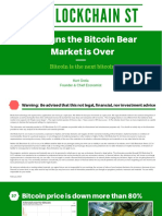 37 Signs the Bitcoin Bear Market is Over