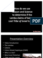 TOK Presentation - The Lemba People