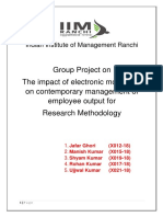 Project Report on TCIL Survelience for Employee