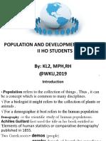 1.Introduction of Pop & Dvt