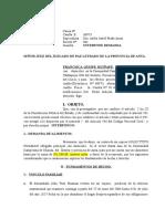 Demanda Nueva de Alimentos - francisca Huaman Huiñape