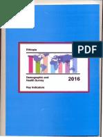 Ethiopia DHS 2016 KIR - Final 10-17-2016