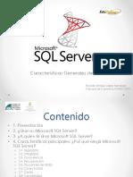 Características Generales de SQL Server