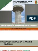 09. CONCEPTOS GENERALES EN EL ANALISIS DINAMICO (INGENIERIA SISMORRESISTENTE UNJ 2019-2)