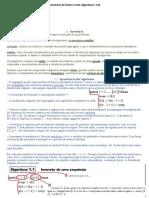 Resumo Estrutura de dados e seus algoritmos  1.1 e 1.2