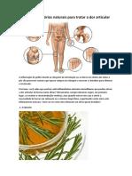 5 Antiinflamatórios naturais