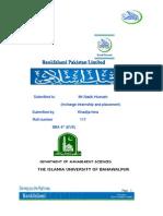 Internship Report Repaired)