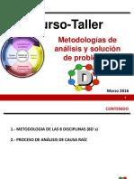Metodología de análisis y solución de problemas 8Ds