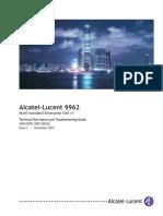 User-Manual-Technical-Description_BTS_ALCATEL 9962