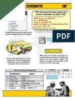 Plano hidraulico motoniveladora 24