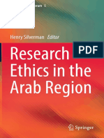 Research Ethics in the arab world