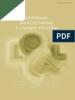 Cotopaxi Espacio social y cambio político