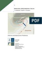 Estudio de deformaciones de  laderas y sus efectos sobre el puente