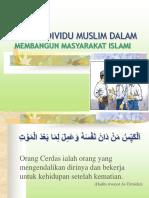 PERAN INDIVIDU MUSLIM