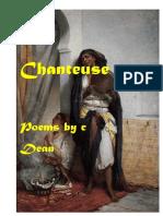 Chanteuse-erotic poetry